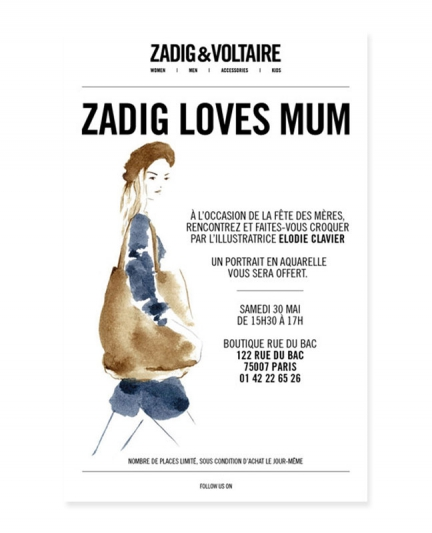 Zadig & Voltaire – Fête des mères